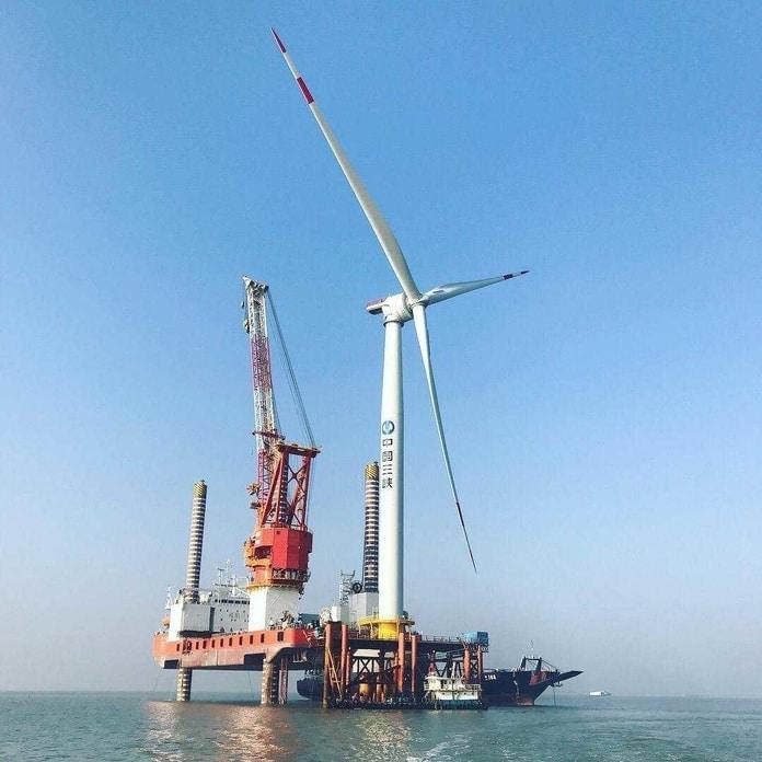 GE Haliade-X instalada na China