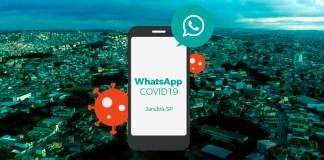 Prefeitura de Jandira lançou o WhatsApp Covid-19
