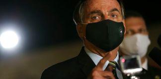 """Bolsonaro menciona reabertura """"responsável"""" da economia"""