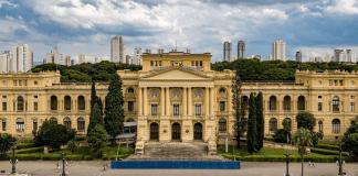Museu do Ipiranga tem 25% de restauro concluído