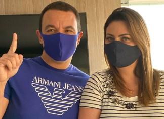 Rogério Lins, Prefeito de Osasco e esposa se curam do Covid-19