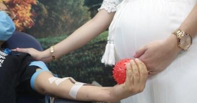 Anuncian eventos de donación sanguínea para mujeres embarazadas