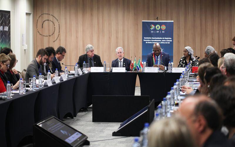 SC e África do Sul buscam fortalecimento do comércio