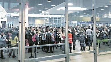 Photo of Filas no aeroporto voltam a ultrapassar as duas horas