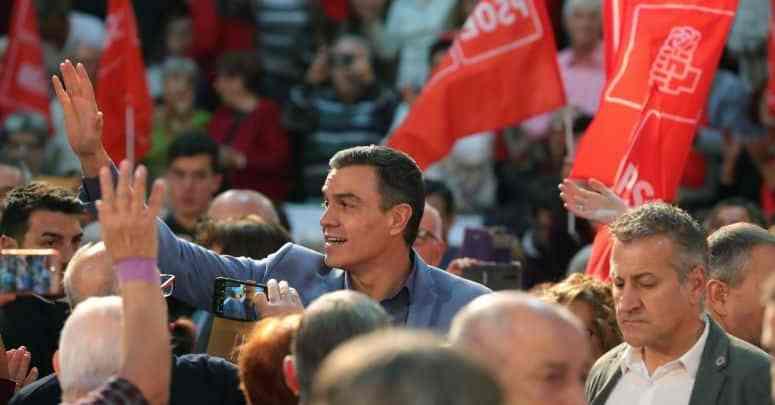 PSOE ganha