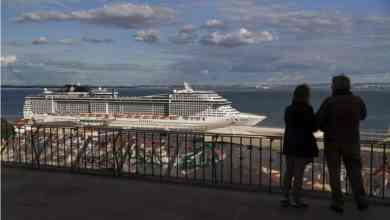 Photo of Covid19: Governo mantém até 15 de junho interdição do desembarque de cruzeiros