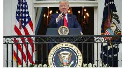 "Photo of ""Já acabei"". Trump afirma que deixou de tomar hidroxicloroquina"
