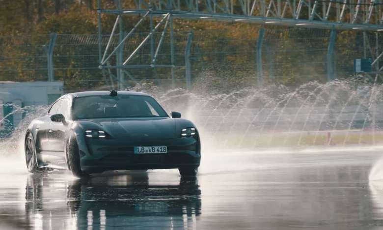 derrapagem Porsche