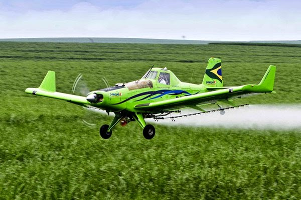 Benefícios da pulverização aérea atraem investimentos - PortaldoAviador.com