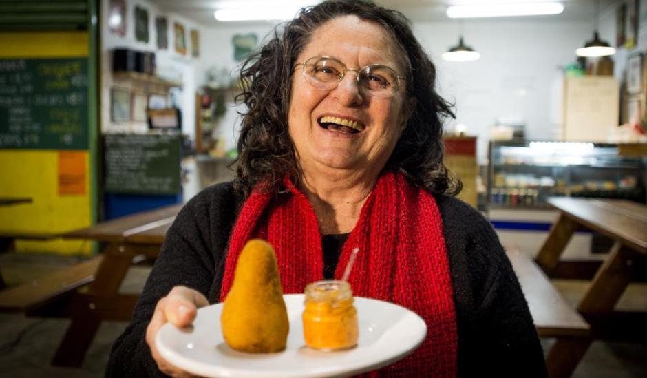 Mara, proprietária do Box 21 | Comer no Bixiga