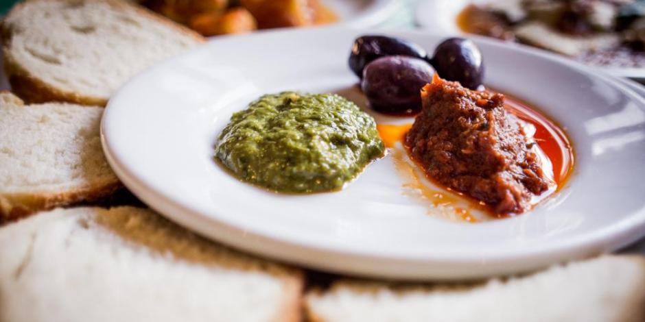 Antepastos servidos na Conchetta | Comer no Bixiga
