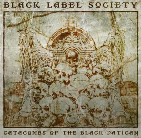 "Capa de ""Catacombs of the Black Vatican"", o mais recente  álbum do Black Label Society"