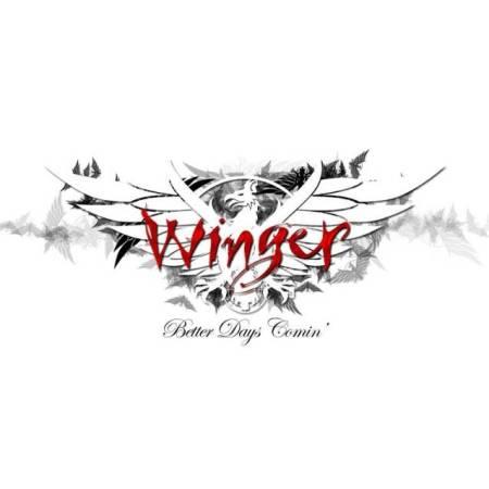 "Capa de ""Better Days Comin'"", novo álbum do Winger"