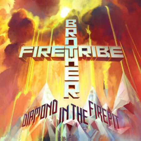 "Capa de ""Diamond in the Firepit"", o novo disco do Brother Firetribe"