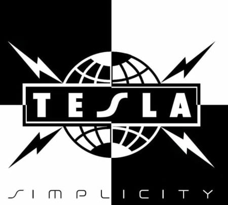 "Capa de ""Simplicity"", o novo disco do Tesla"