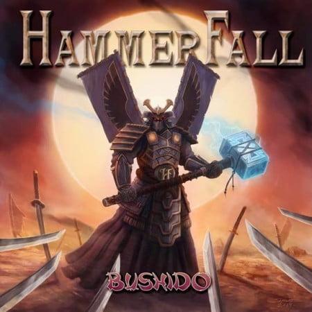 "Capa de ""Bushido"", o novo single do HammerFall"