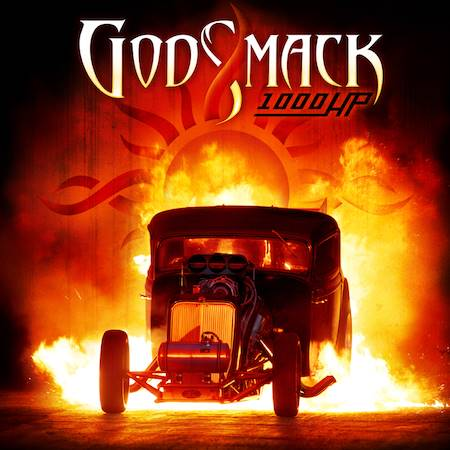 "Capa de ""1000hp"", o novo  álbum do Godsmack"
