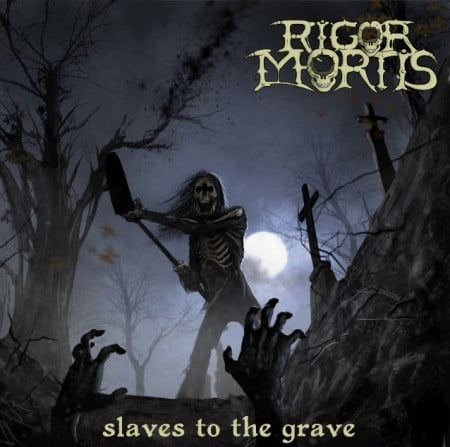"Capa de ""Slaves to the Grave"", o novo CD do Rigor Mortis"