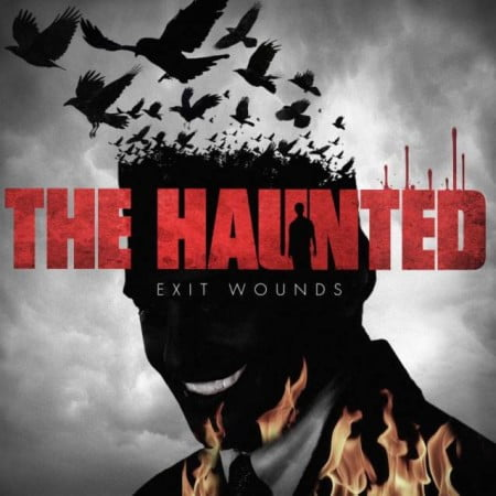"Capa de ""Exit Wounds"", o próximo CD do The Haunted"