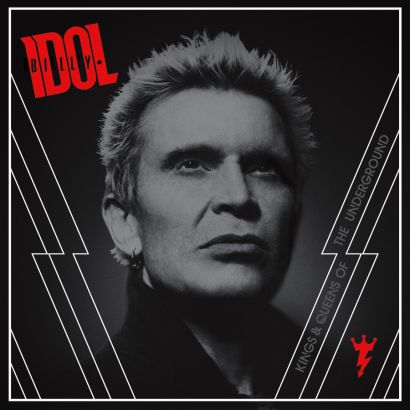 "Capa de ""Kings & Queens of the Underground"", o novo disco de Billy Idol"