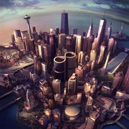 "Capa de ""Sonic Highways"", o novo álbum do Foo Fighters"