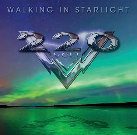 """Capa de """"Walking in the Starlight"""", álbum que marca o retorno do 220 Volt"""