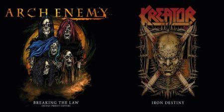 Arch Enemy e Kreator: bandas lançam split em celebração à turnê conjunta