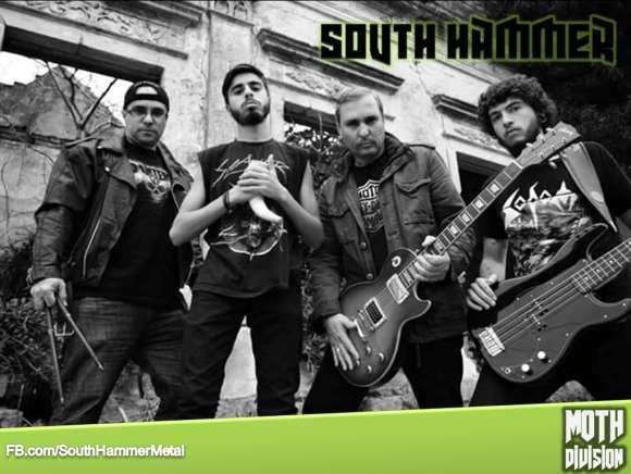 "South Hammer: banda lança novo single ""Harley My Motorcycle"""