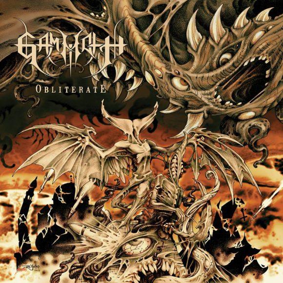 "Gammoth: banda divulga capa e tracklist do álbum ""Obliterate"""