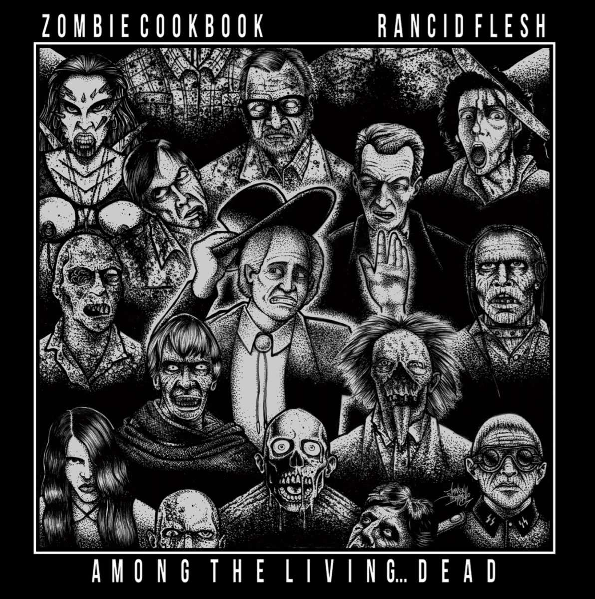 Zombie Cookbook/Rancid Flesh – Among The Living…Dead