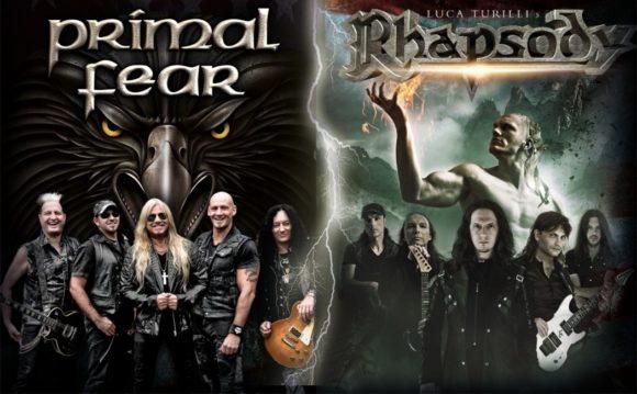Primal Fear e Luca Turilli's Rhapsody: bandas confirmam 12 datas na América Latina