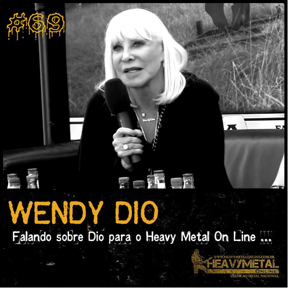 Wendy Dio: biografia sobre a vida de Dio fica pronta em Outubro