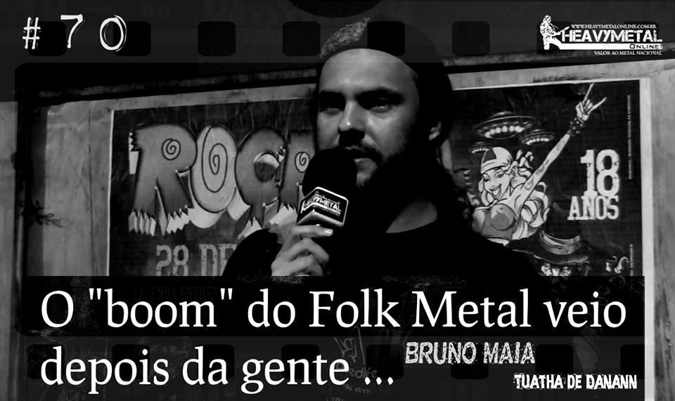 """Tuatha de Danann: """"Começamos antes do 'boom' do Folk Metal"""""""