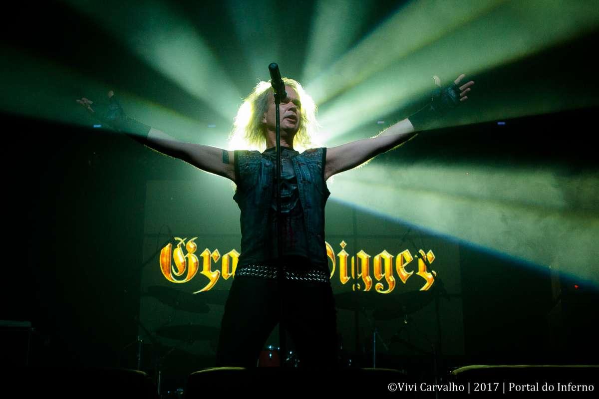 Grave Digger se apresenta pela 11ª vez no Brasil, neste final de semana, em São Paulo
