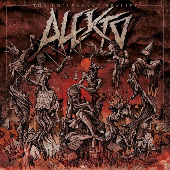 """Alekto: banda disponibiliza o álbum """"The Unpleasant Reality"""" para download no site Coletivo La Migra."""