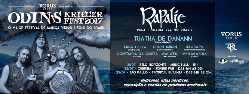 Odin´s Krieger Fest 2017 : o maior festival de música viking e folk do Brasil