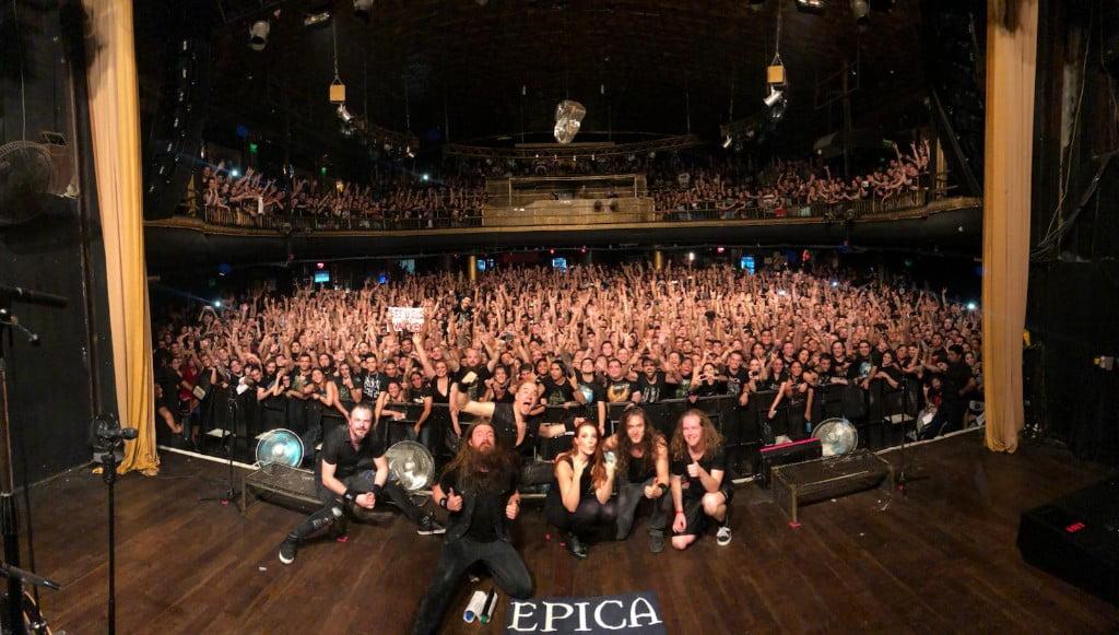 Epica inicia turnê pela América do Sul com shows lotados