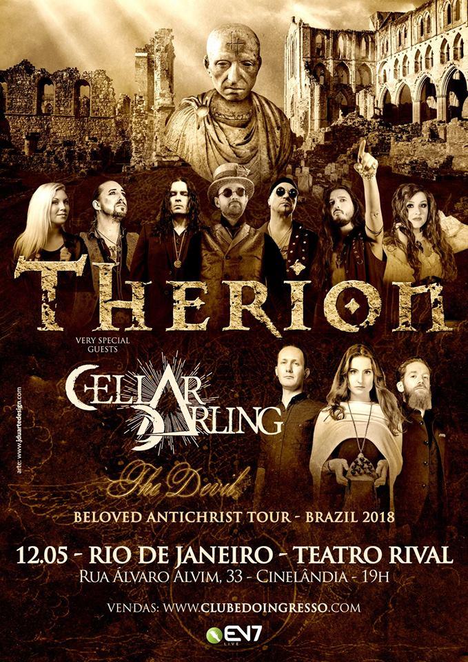 Therion – 12/05/2018 – Rio de Janeiro/RJ