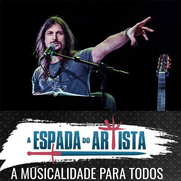 """Rafael Bittencourt: """"A Espada do Artista"""" – A Musicalidade para todos"""