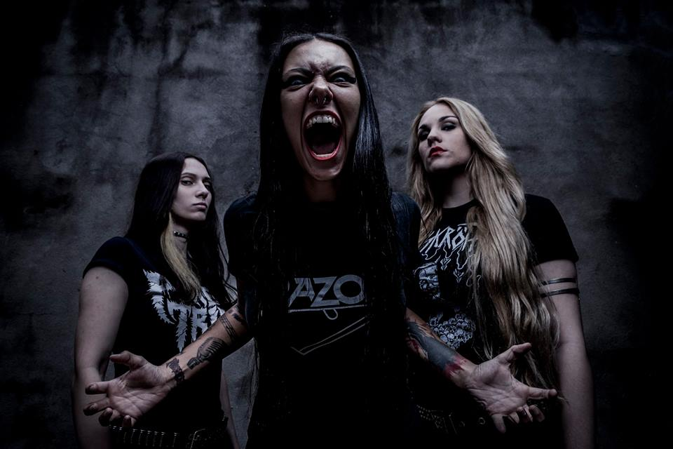 Nervosa: Fernanda Lira convida para os shows ao lado do Destruction no final de semana