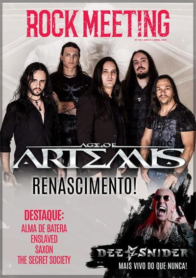 Age of Artemis é capa da revista Rock Meeting e promete promoção no Record Store Day