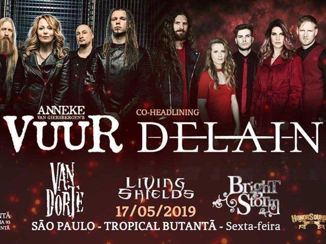 Vuur + Delain – 17/05/2019 – São Paulo