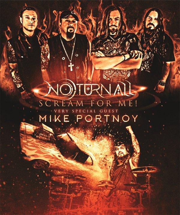 """Noturnall lança videoclipe de """"Scream! For!! Me!!!"""" com participação de Mike Portnoy"""