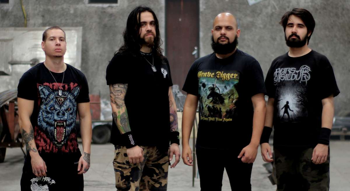 "Royal Rage: Ouça ""Khan"", novo single da banda curitibana de Thrash Metal"