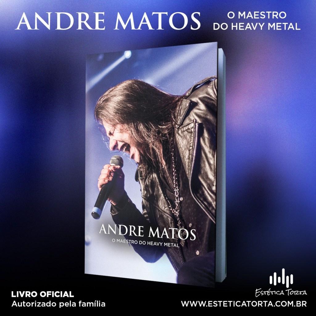Livro da Biografia de André Matos.