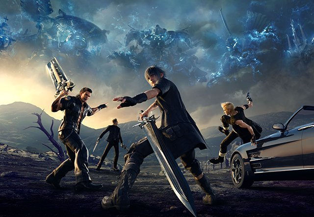 Final Fantasy XV Cover 2016