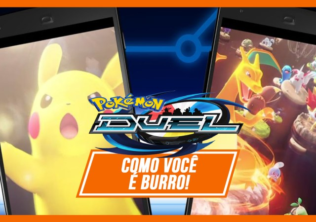 Pokémon Duel capa