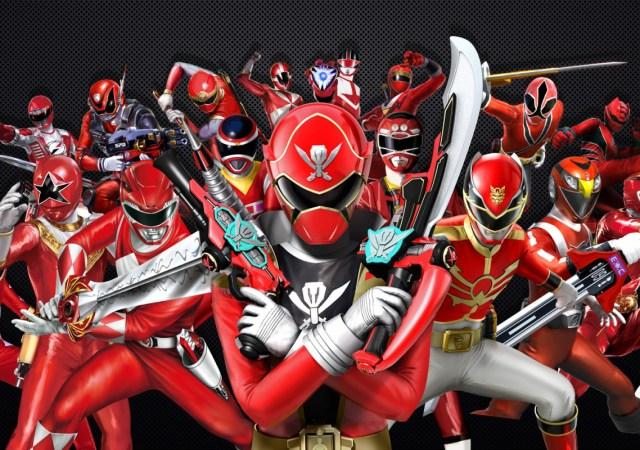 power rangers forever red wallpaper 1600x900 1