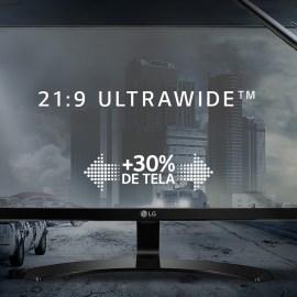 LG complementa família ultrawide com lançamento