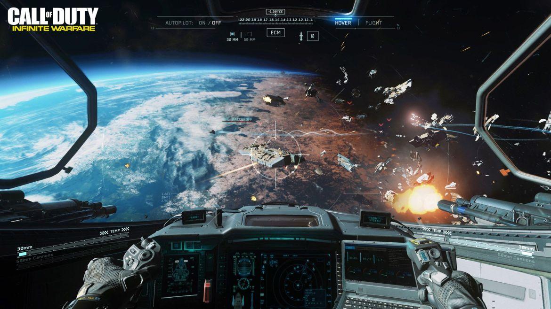 COD IW E3 Ship Assault Space Combat WM.0
